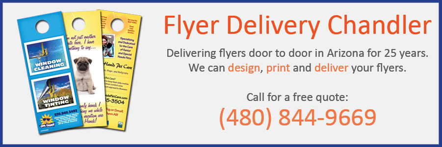 flyer delivery chandler